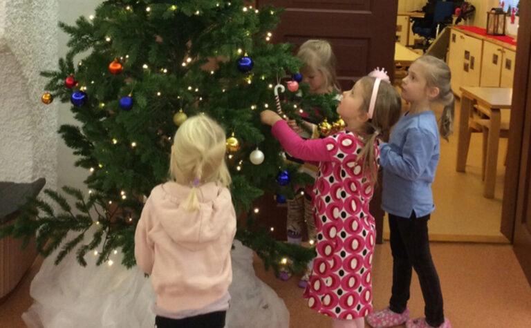 Päiväkoti Augustinassa valmistaudutaan jouluun